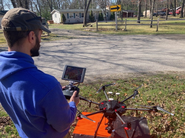 Affiliated Researchers Aerial Drone (UAV) LiDar Photogrammetry and Mapping Services