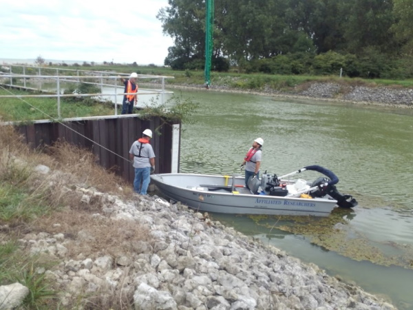 Affiliated Researchers Pre and Post Dredging Surveying Service