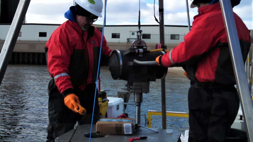 Affiliated Researchers Conducts Pore Water Sampling Services