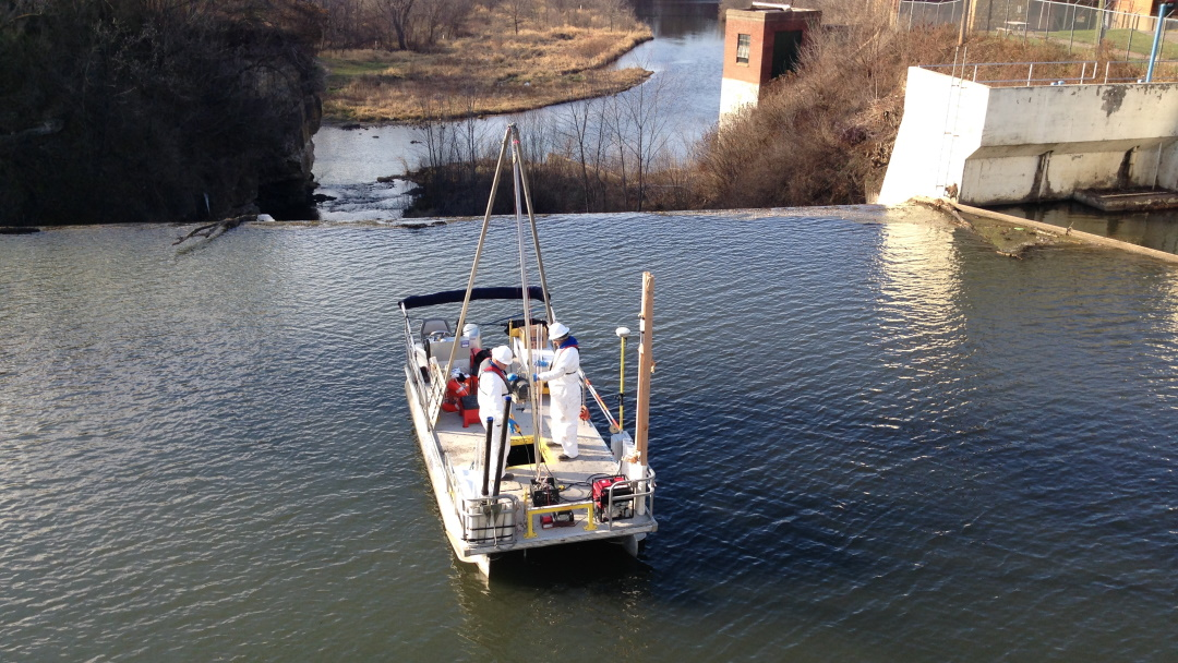 Dam Removal at Kinnickinic River, Wisconsin